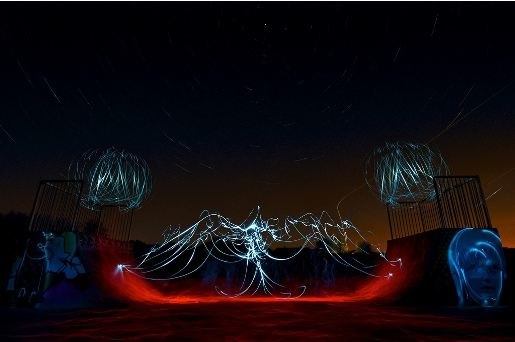 Light Painting by Ben Matthews