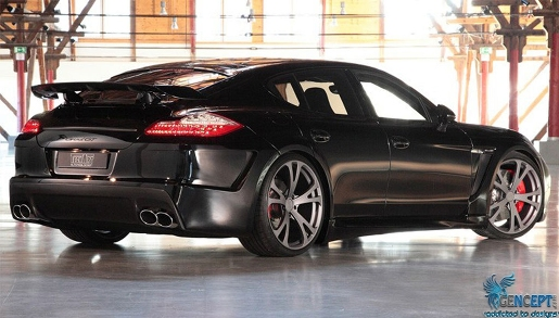 2011 Porsche Panamera GrandGT Carbon Fiber By TechArt