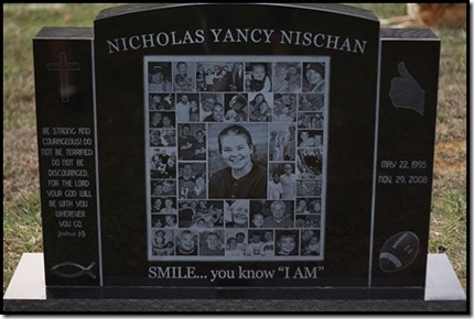 nicks tombstone