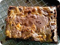 Dulce De Leche Brownies 013