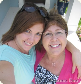 me and mom pre-mother's day 2010