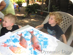 gnr paint fish and star fish (2)