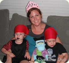 princess mommy and the irates!
