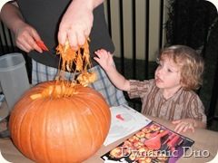 rals impressed with pumpkin guts