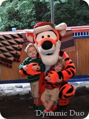 tigger lovin - rals almost took him out