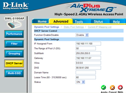 AP DHCP