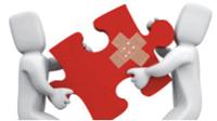 Rote Kreuze im Team Explorer bei Repots und Documents?