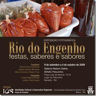 Convite - Rio do Engenho, festas, saberes e sabores 5