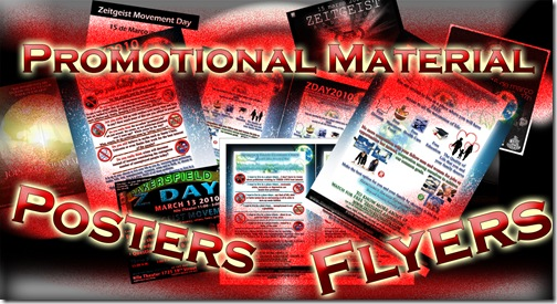 Promotional Material – Posters & Flyers