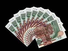 South Africa - 10 Rand - Afrikaans Version by Factual Solutions
