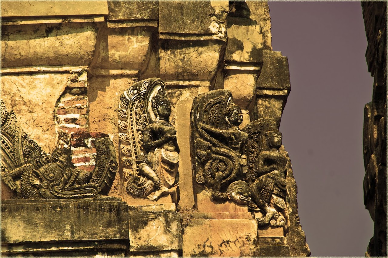 Moldings at Sukhothai