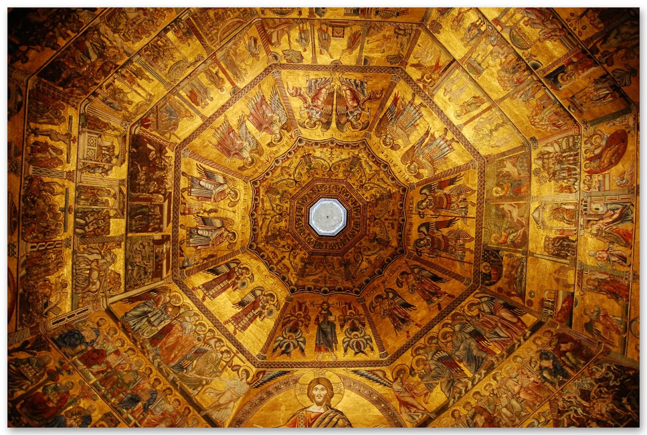Baptistery interior