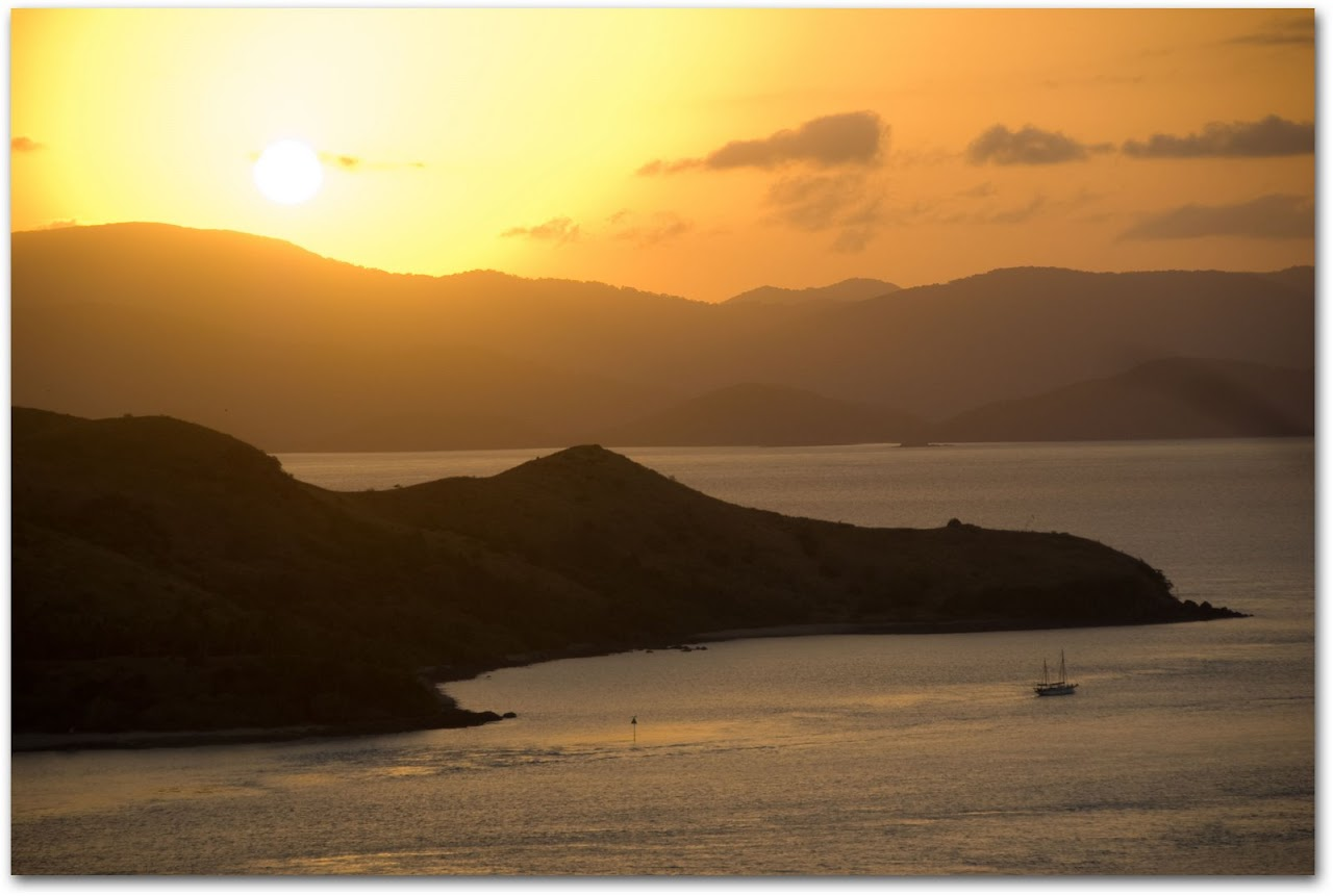 Sunset from One Tree Hill, Hamilton Island