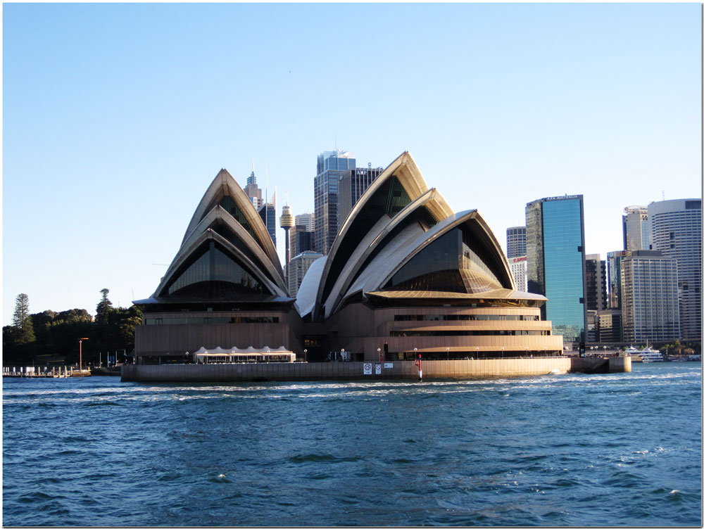 Sydney Opera House by boat
