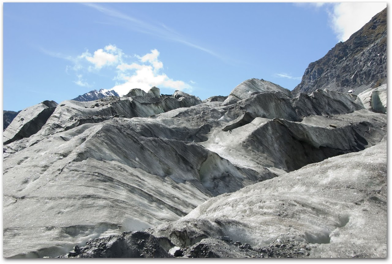 Ice on Fox Glacier