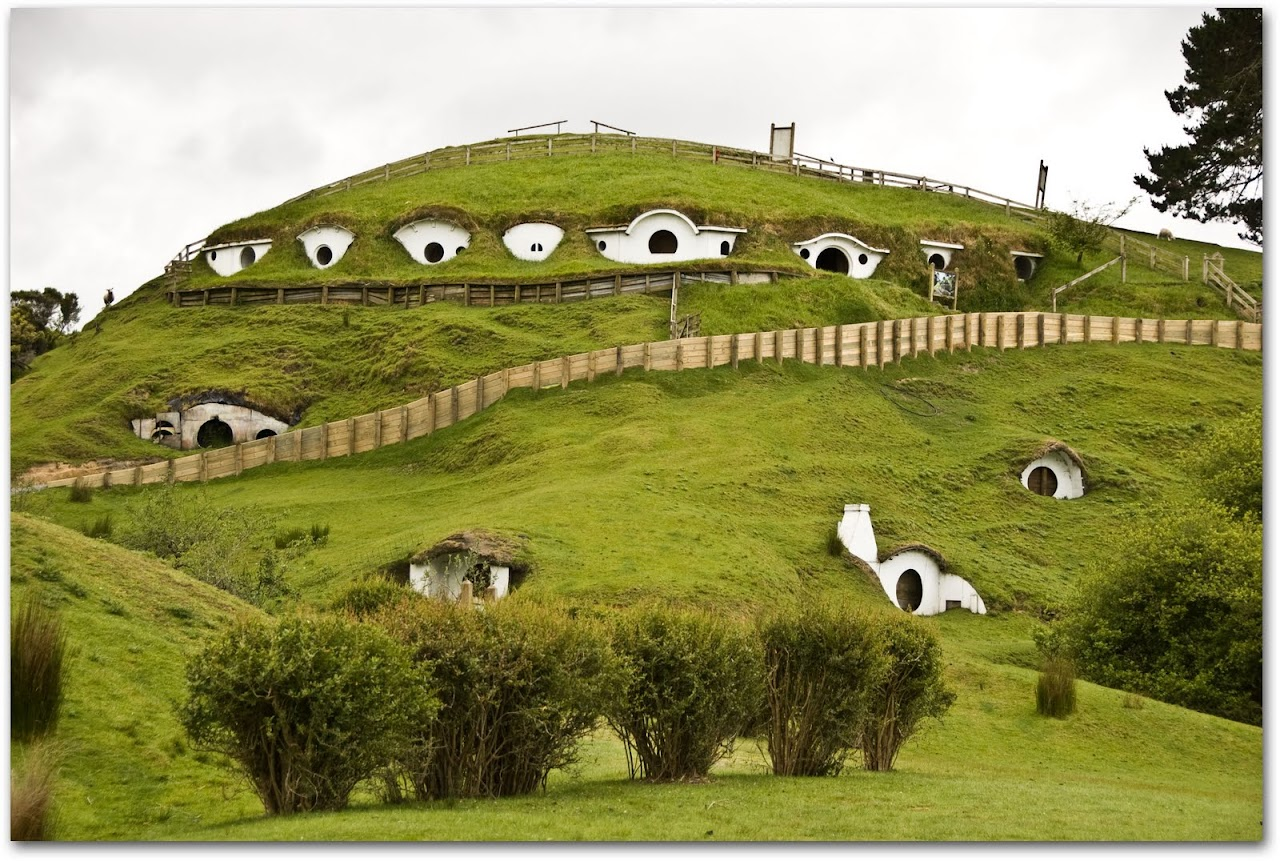 Hobbit holes
