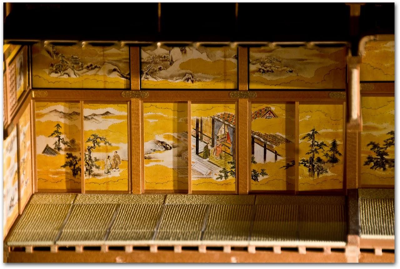 Model at Edo Tokyo Museum