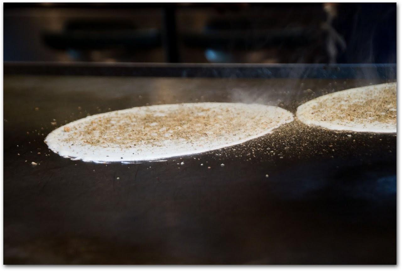Okonomiyaki crepe
