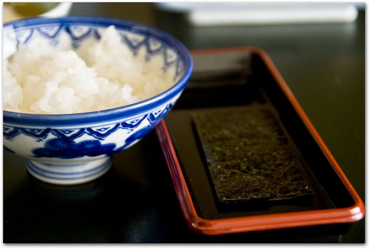 Rice with nori