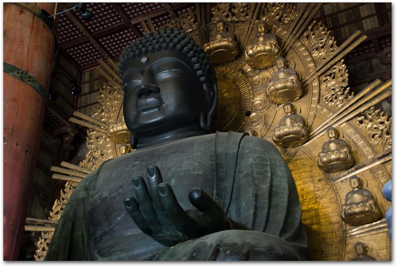 bronze Buddha Nara