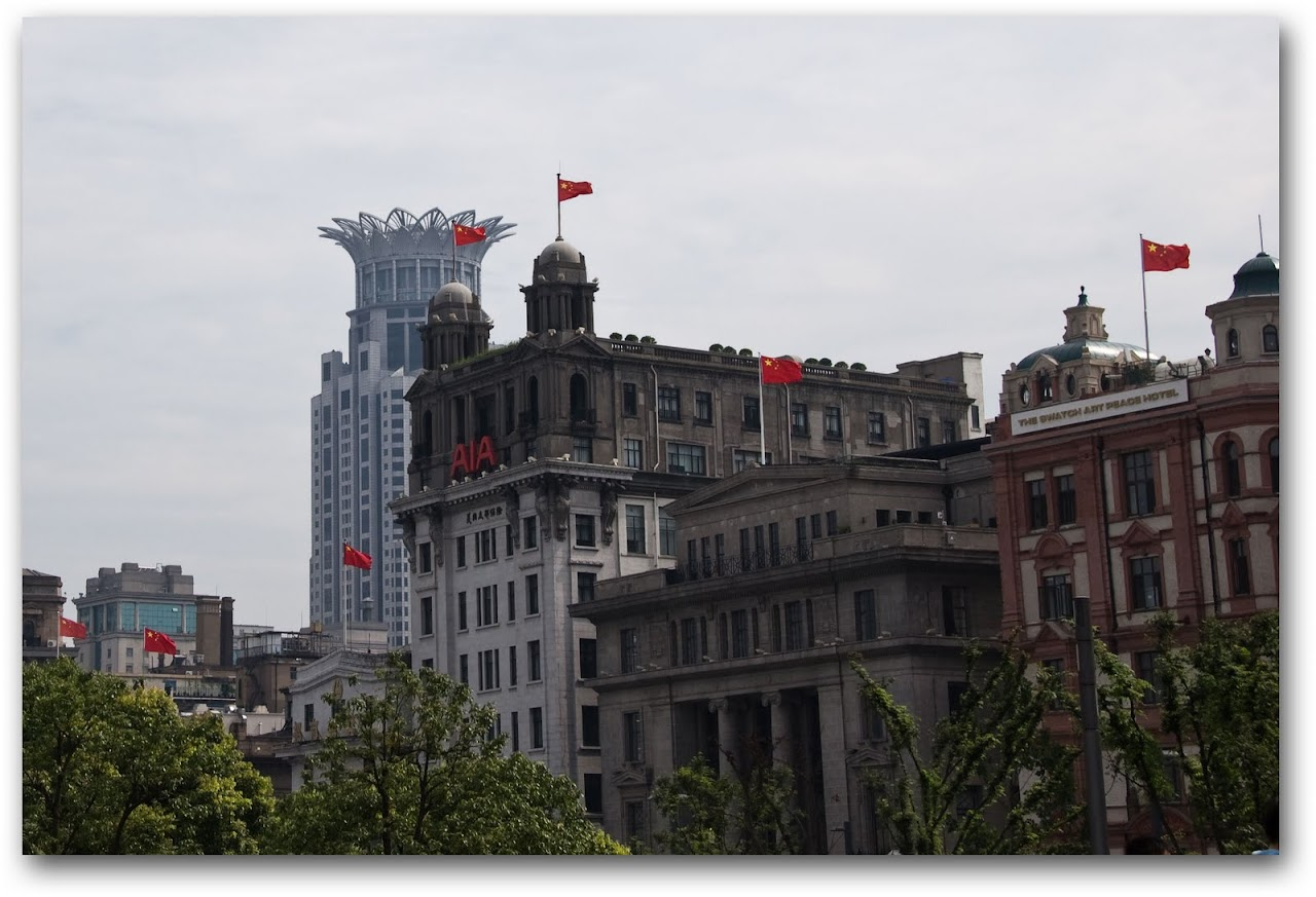 Flags in Bund