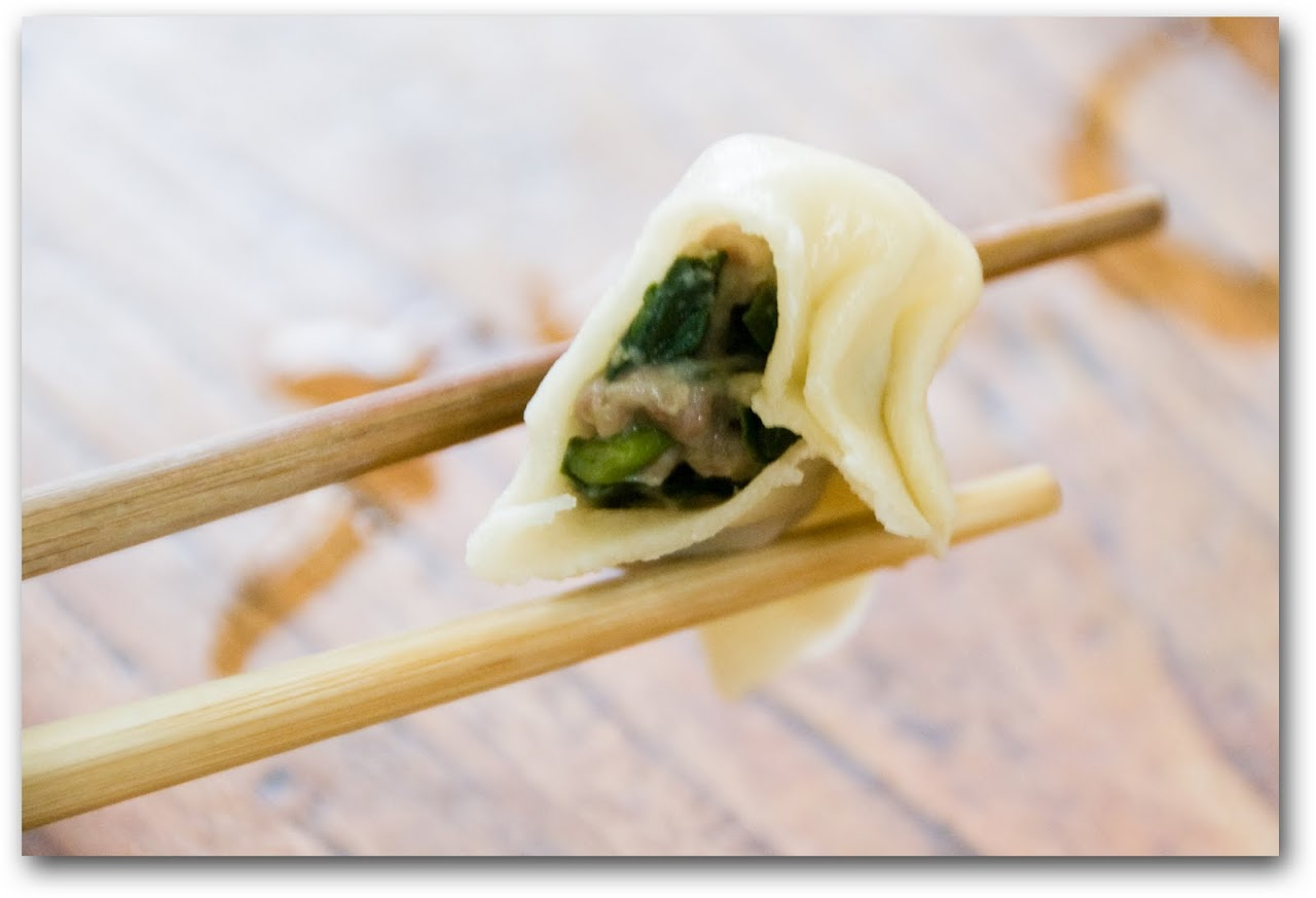 Pork jiaozi