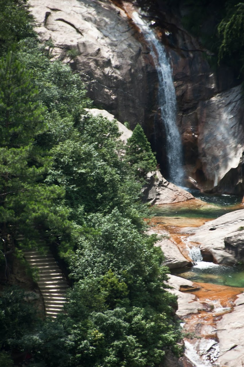 Waterfall Huang Shan