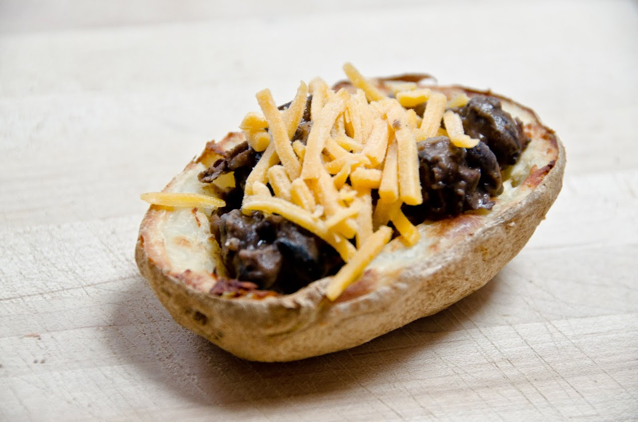 Steelers potato skins