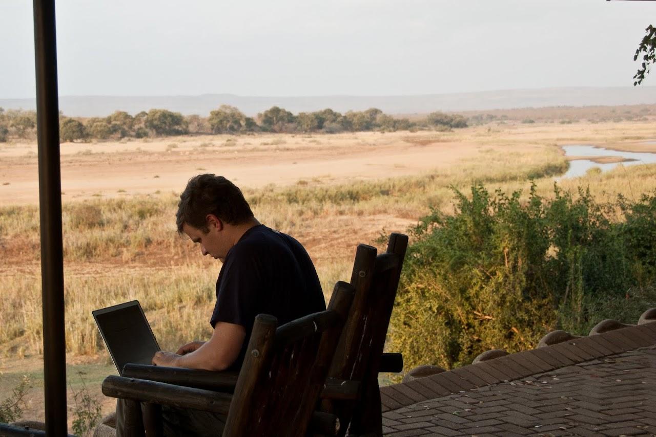 Working at Kruger National Park
