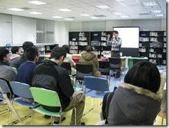 7李老師用心地準備了分享內容的ppt