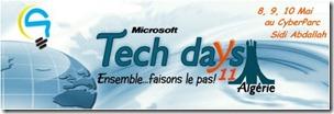 Logo des TechDays Algérie