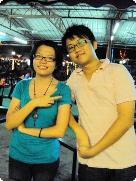 6M class gathering 2009-Mun Yan and Yee Yew