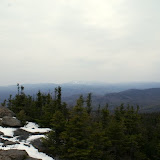 whiteface in the distance