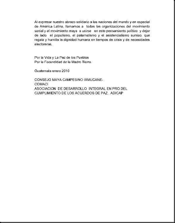 Posicion Politica del Movimiento Revolucionario Maya Balam a Enero del 2010_Page_3