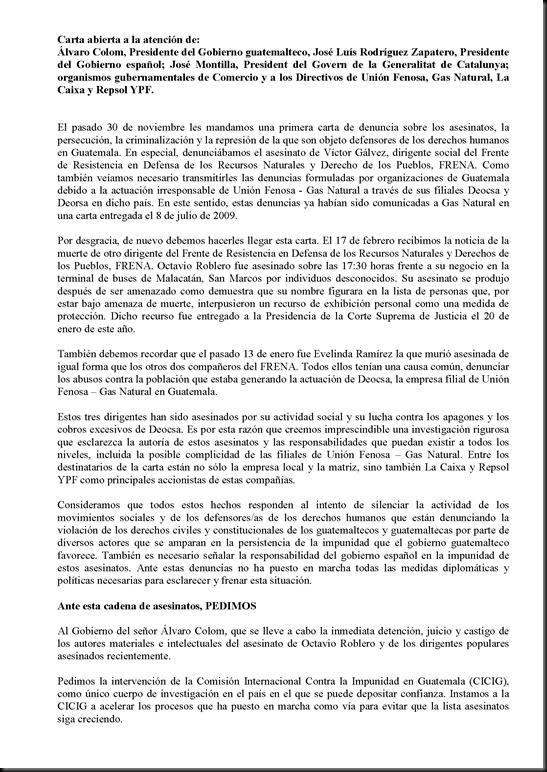 Carta abierta sobre Union FENOSA en Guatemala_Page_1