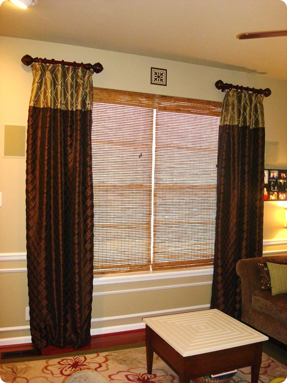 Short curtain rods short curtains and single hung windows Short curtain rods