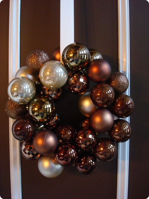 Ornament Wreath Tutorial