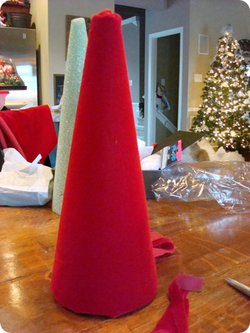 Santa hat DIY craft