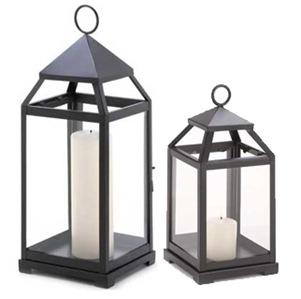 pottery barn style lanterns