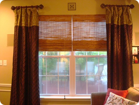 Bamboo or blinds from Thrifty Decor Chick