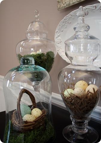 spring apothecary jars