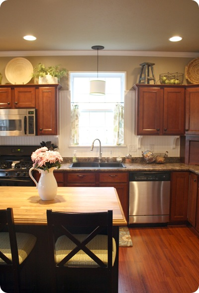- How To Decorate Above Kitchen Cabinets From Thrifty Decor Chick