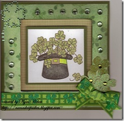 Hat of Shamrocks