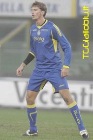 Leo in una partita di Coppa Italia