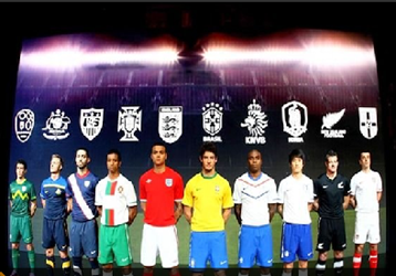 camisetas del mundial 2010