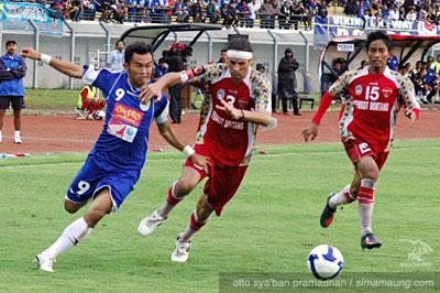 Airlangga Persib vs Bontang FC 2009/2010