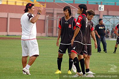 Bang Jun melihat Persib sebagai tim yang punya materi pemain bagus.