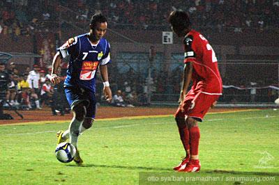 Atep Persijap vs Persib 2009/2010