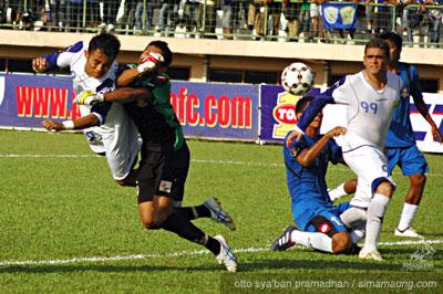 Airlangga Pelita Jaya vs Persib 2010