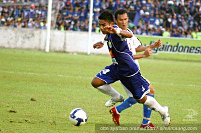 Wildansyah Pelita Jaya vs Persib 2009/2010